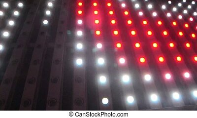 Flashing Lights Spotlight Bulb Flood lights Led Wall Stage...