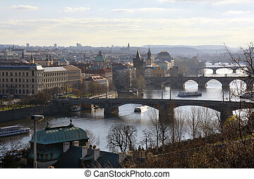 Czech Republic_Prague - Prague, Czech Republic - city scape...