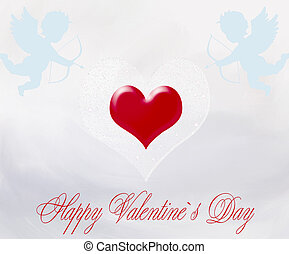 Happy Valentine`s Day Romantic illustration Valentines Day...