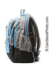 Backpack isolated on white background