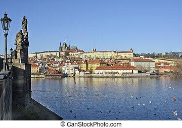 Czech Republic Prague - Prague, Czech Republic - Moldau...