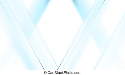 Light blue tech triangles animated motion background Video...