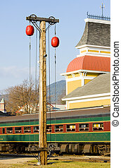 Railroad Museum, North Conway, New Hampshire, USA