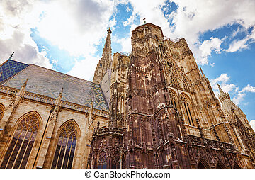 St. Stephen's Cathedral(Stephansdom) the mother church of...