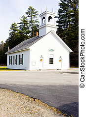 church in Stark, New Hampshire, USA