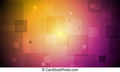 Bright tech squares animated motion background Video graphic...