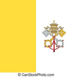 Standard Proportions for Vatican City Flag - Standard...