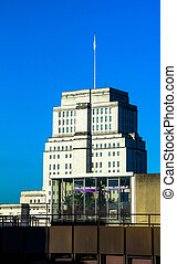 Senate House Library in London - The Senate House Library in...