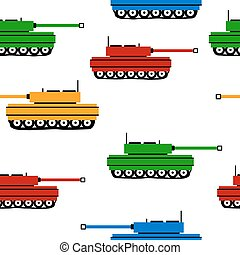 Panzer icons on white - Panzer icons on white background,...