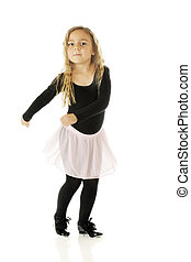 Twisty Tap - A cute kindergartner tap dancing with a twist...