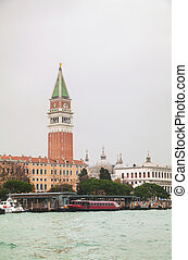 Bell tower (Campanile) at St Mark squar