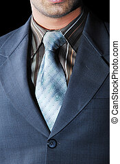 Men in suite - This is a beautiful gray color of suit and...