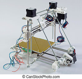 3D Printer Prototype - Assembling Open Source 3D Printer...