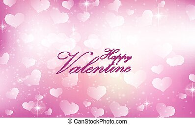 Purple Valentine heart background - Illustration of Purple...