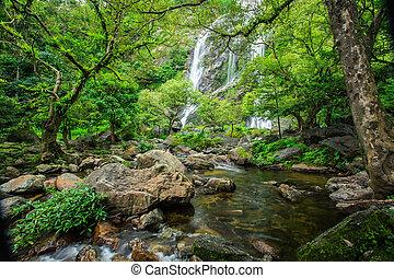 Huai Luang waterfall