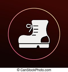 camping boot icon