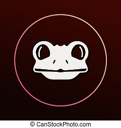 animal frog icon