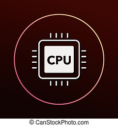 cpu icon