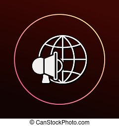 global internet icon