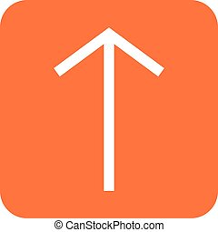 Up , Arrow - Arrow, up, pointer icon vector image Can also...