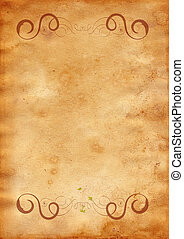 Old paper - Highly detailed textured antique paper , great...