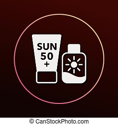 sunscreen icon