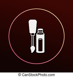 Nail polish icon