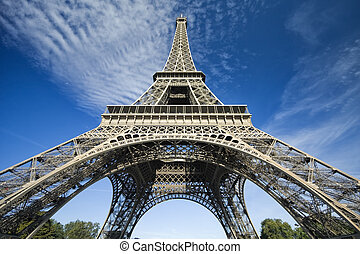 Eiffel Tower - One of the monuments of PARIS the Eiffel...
