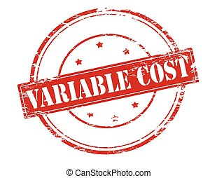 variabel cost A cost that changes based on the level of sales or production examples of a variable cost are temporary labor and materials that are used to produce goods.