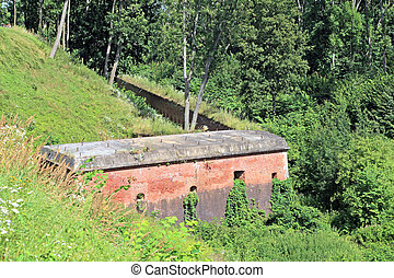Fortress from the wartime - Historical military...