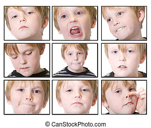 expressions - child isolated with mutiple expressions