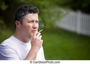 Fumar, hombre
