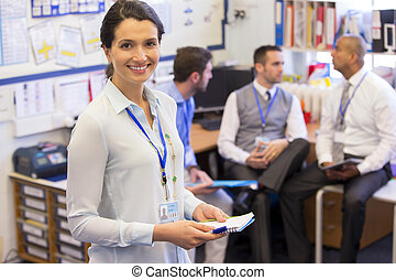 Loving My Job - School teachers gather in a small school...