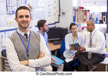 Love My Job - School teachers gather in a small school...