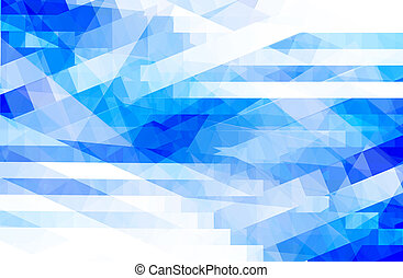 Blue background - abstract blue background with square...