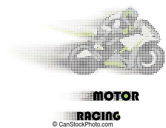 motor racing concept