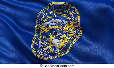 US state flag of Nebraska
