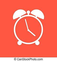 alarm clock - vector alarm clock icon