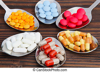 Pills, tablets, capsules