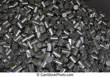 pile of cans