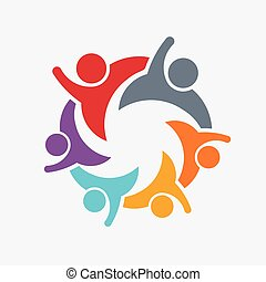 People Family logo - We are a Family of 6 Parent and...
