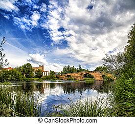 Viejo - Old roman bridge, El Barco de Avila, Spain