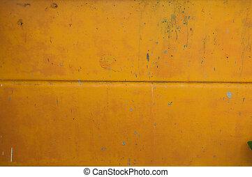 orange cement wall, textured background