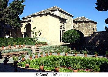 Alcazaba and Gibralfaro Castle, Spain - Alcazaba and...