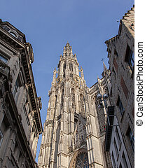 Cathedral of Our Lady in Antwerp, Belgium...