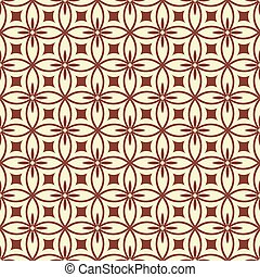 seamless ornament pattern vector illustration
