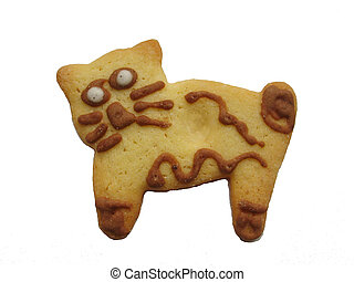 Cookie cat - Hand made cookie looks like small cat