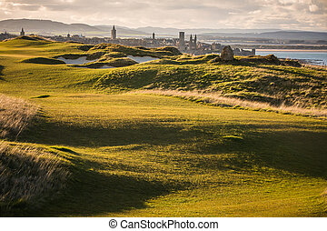 View of Saint Andrews, Fife, Scotland