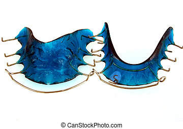 Dental Retainers - A pair of custom made dental retainers...