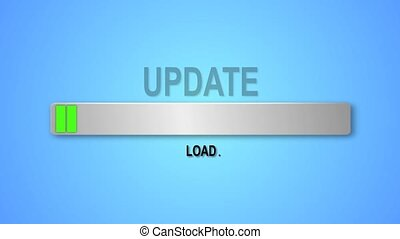 Indicator download the update. Download Update